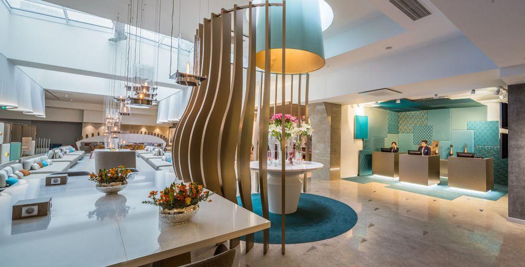 Un hotel de diseño moderno y exclusivo