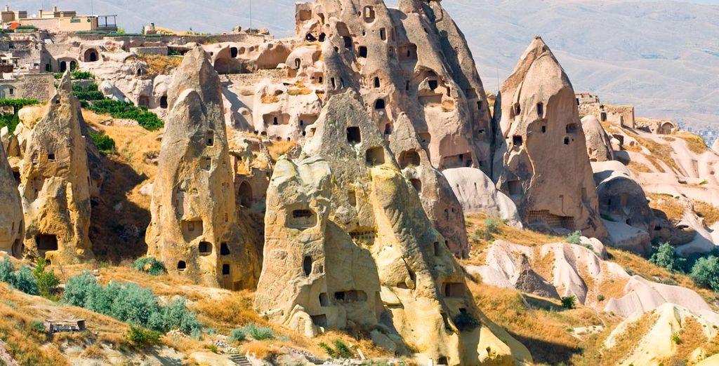 El país de las maravillas justo en el centro de Turquía