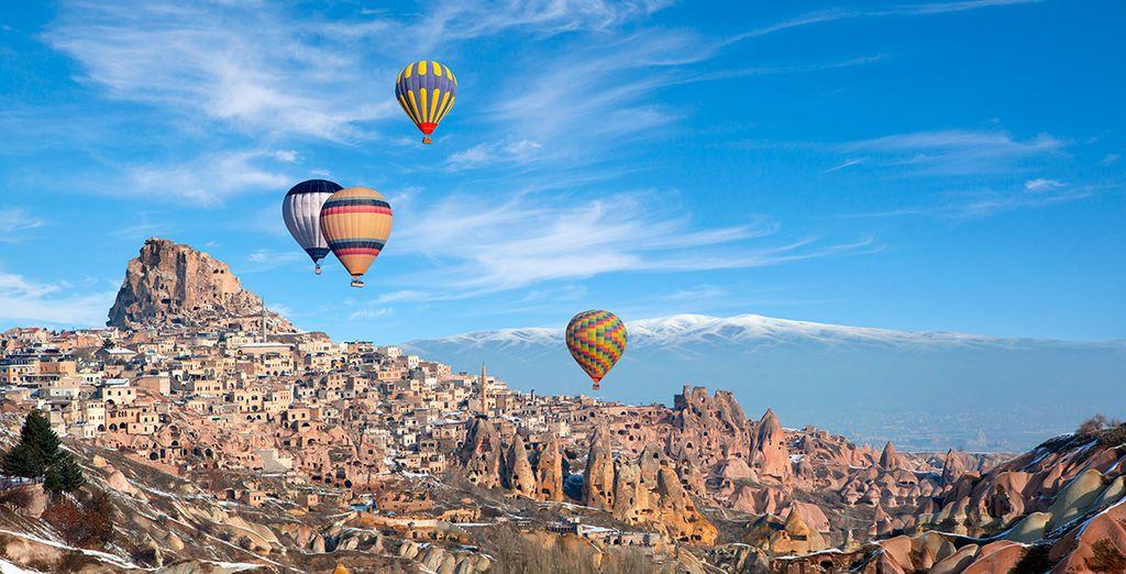 Las vistas a Capadocia le dejarán embelesado - Turquía Mágica con Almina - Special Class Estambul