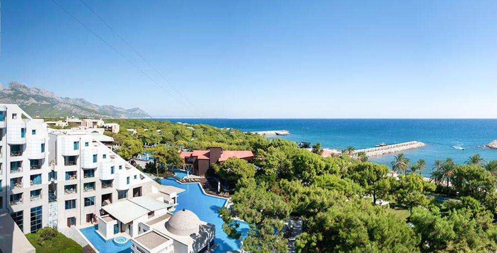 Junto al mar - Rixos Sungate Hotel 5* Antalya
