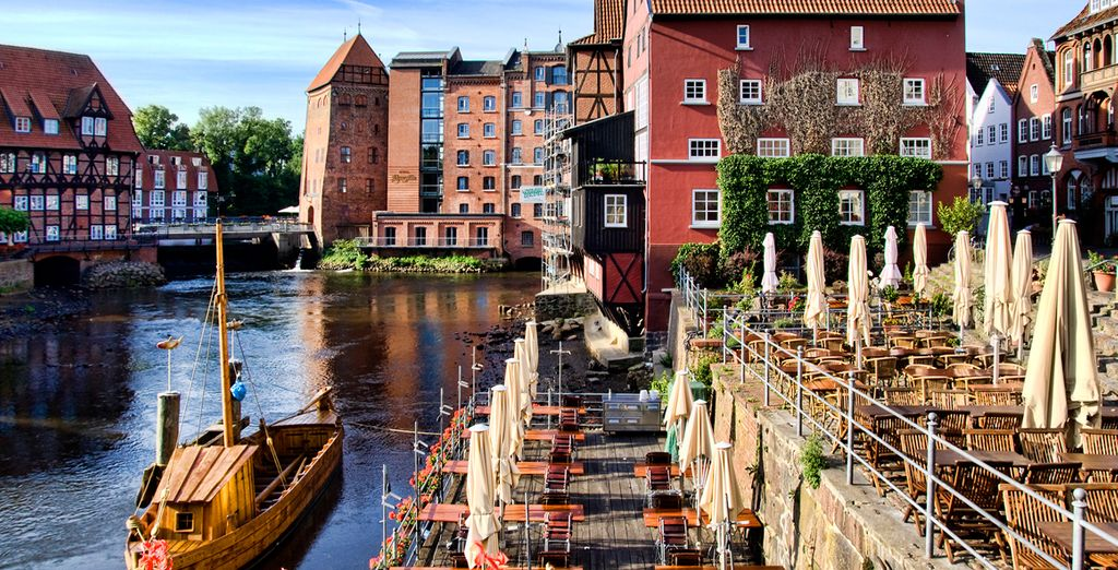 Lüneburg es una ciudad hanseática rica y poderosa por albergar sal entre sus tierras