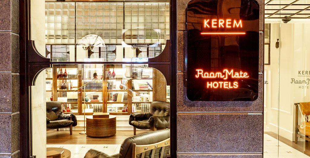 Un concepto diferente de hotel - Room Mate Kerem Hotel & Spa 4* Estambul