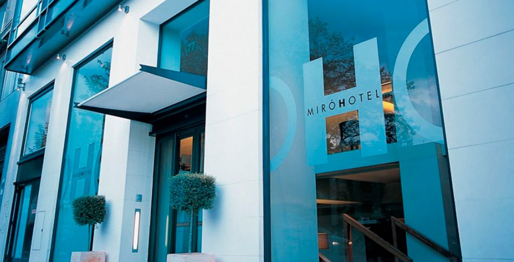 Te recibirán como mereces - Hotel Miró Bilbao 4* Bilbao