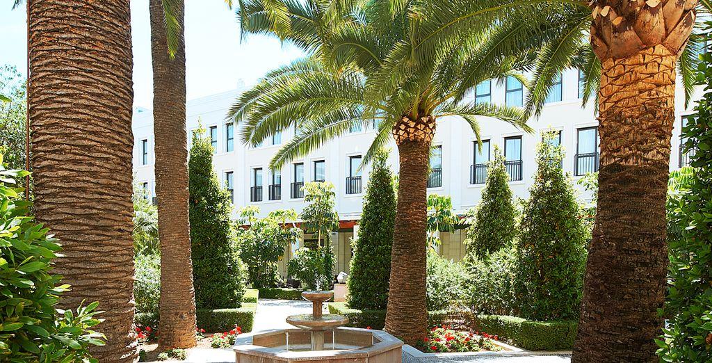 Su transformación en 2006 dio a luz al hotel más glamuroso de la ciudad