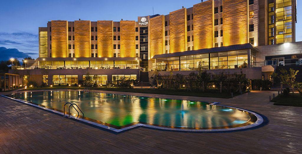 En Capadocia, se alojará en un hotel 5* de la cadena Doubletree by Hilton