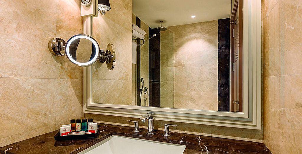 Dispondrás de un cómodo baño...
