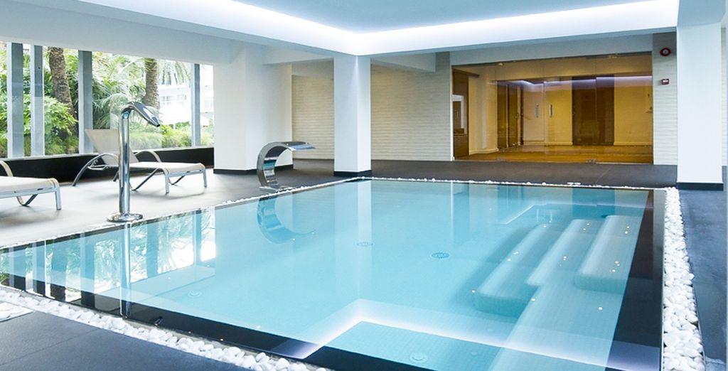 Tu sensación de tranquilidad se ampliará con sus servicios de spa y wellness