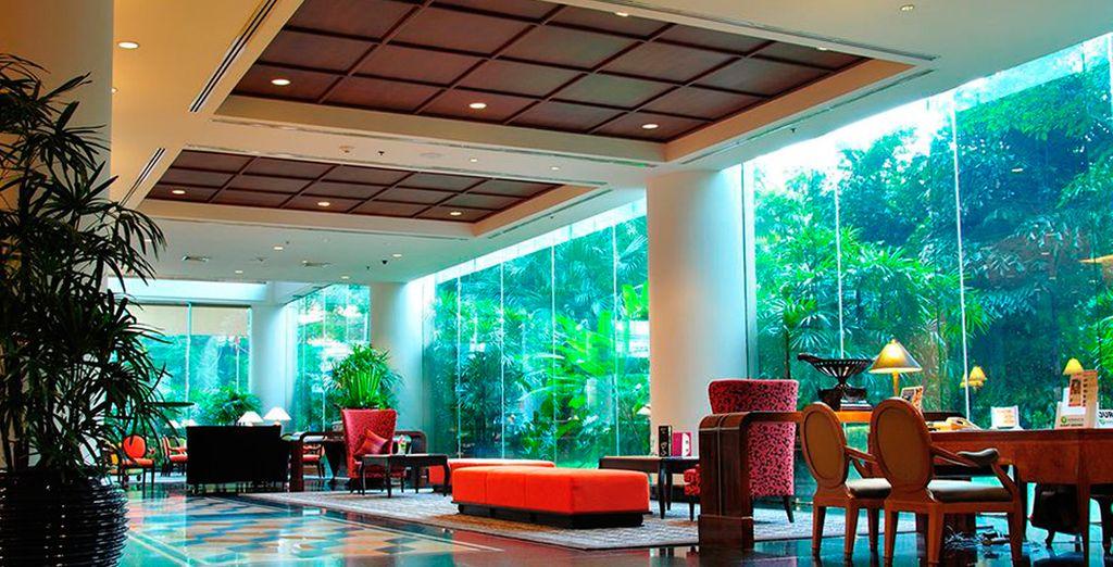 Interiores amplios y elegantes