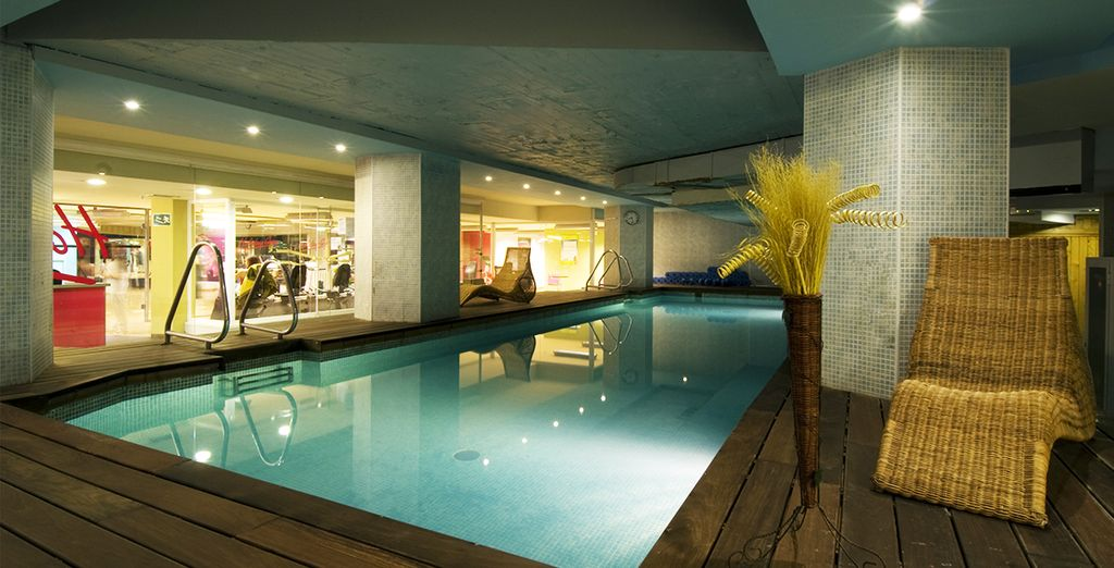 Hotel avec piscine et salle de sport 28 images salle for Bouton cuisse interieur
