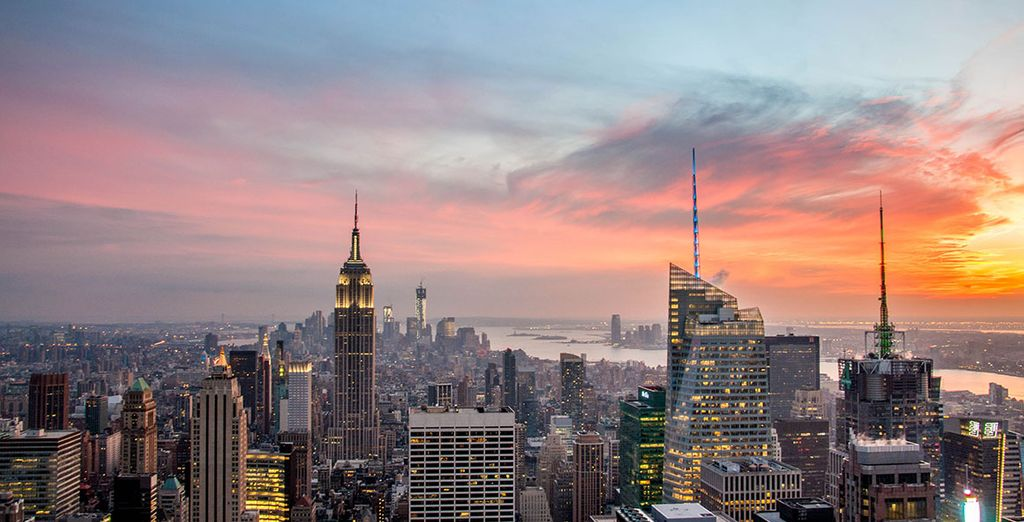 Venez croquer dans la Big Apple ! - Hôtel Marriott New York Downtown 4* New York