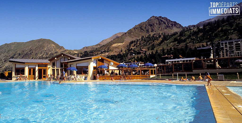 Soleil, nature et loisirs... Que demander de mieux ! - Hôtel Club du Soleil Pas du Loup  Isola 2000