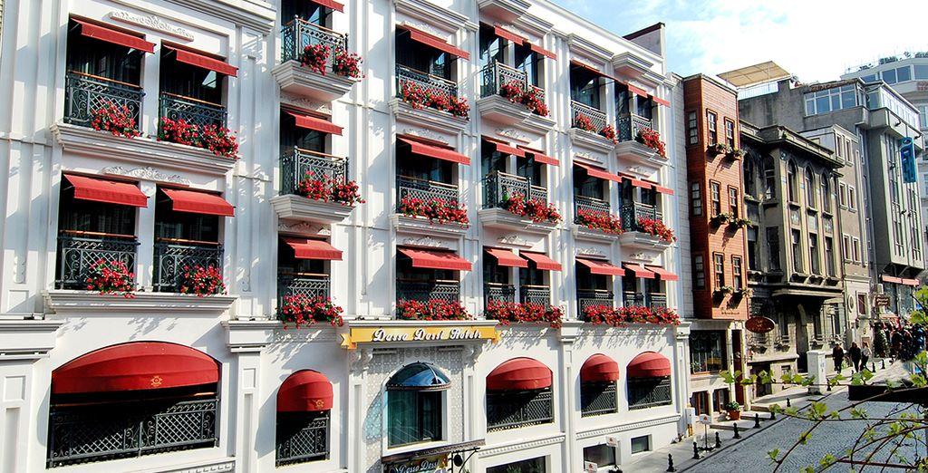 Hotels Pour Une Escapade A Istanbul : Hotel dosso dossi voyage priv� jusqu à