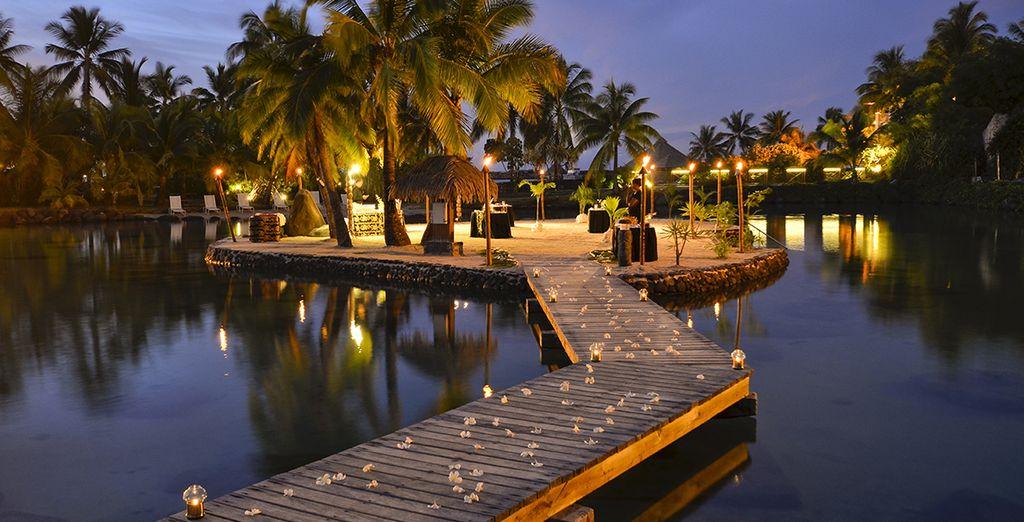 Combin 3 les en polyn sie intercontinental tahihi 4 for Chambre 13 tahiti plage mp3