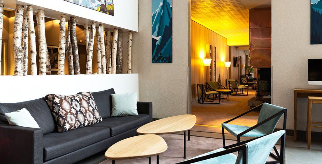 Bienvenue à l'hôtel Les Aiglons  - Les Aiglons Resort & Spa 4* Chamonix
