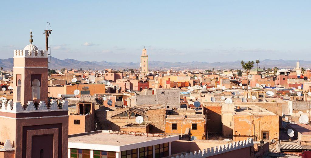 Laissez-vous envoûter par l'ambiance et la générosité de Marrakech
