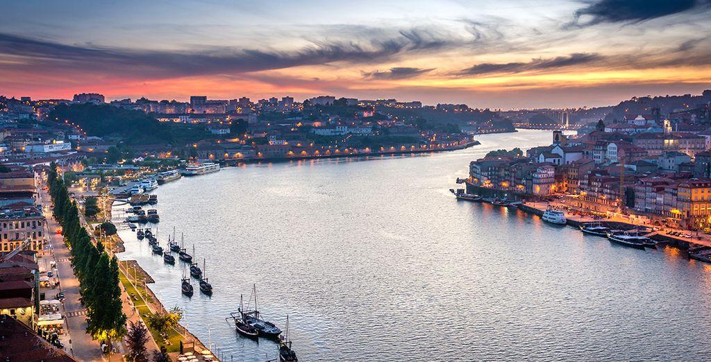 Vous traverserez la région du Porto