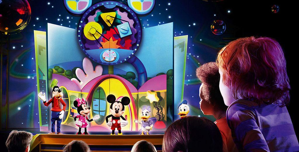 Rencontrez les personnages Disney®