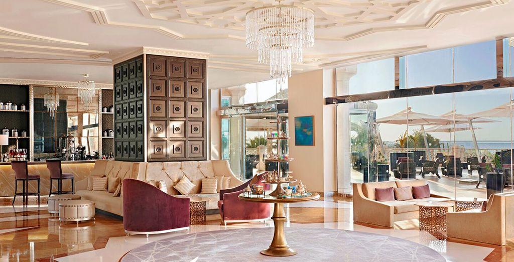 Vous profiterez du comble du luxe oriental et du confort
