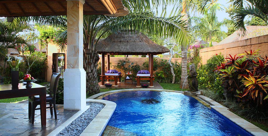 Vous vivrez quelques jours inoubliables au bord de votre piscine privée