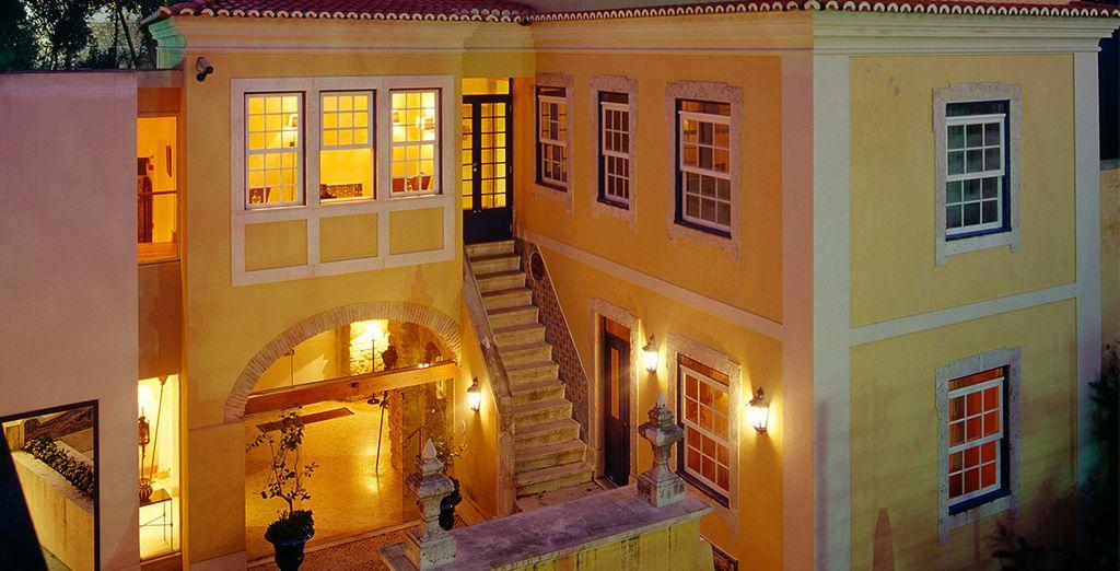 Séjournez dans l'enceinte même du château Saint Georges - Hôtel Solar Do Castelo 4* Lisbonne