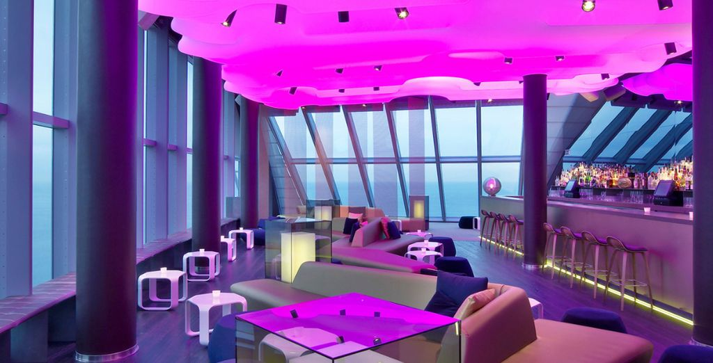 H tel w barcelona 5 voyage priv jusqu 39 70 for Chambre fabulous w barcelone