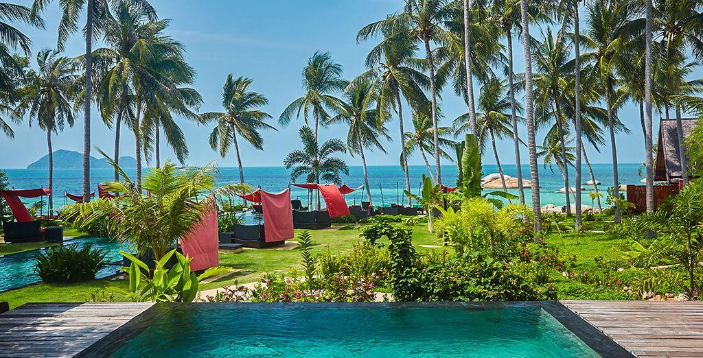 Offrez-vous une parenthèse enchantée... - Kupu Kupu Beach Villas & Spa 5* Koh Phangan