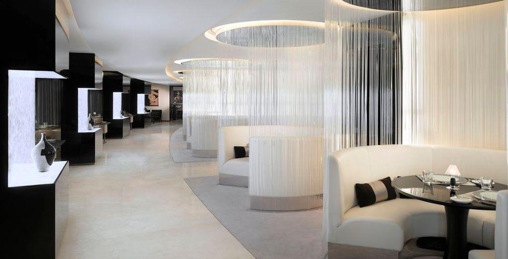 Un hôtel réputé pour ses intérieurs sophistiqués