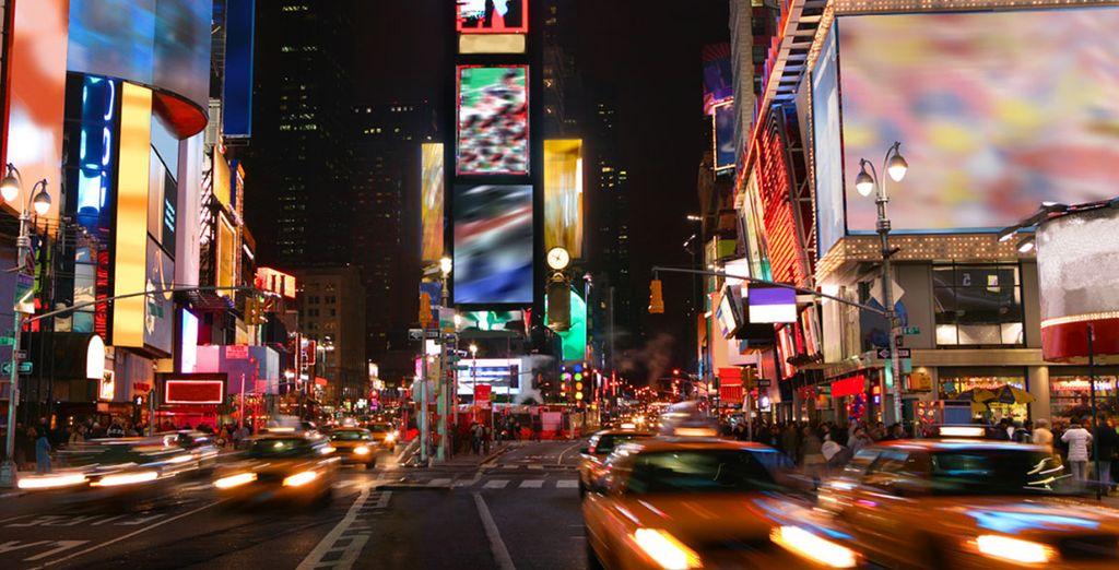 Et à quelques pas de Times Square