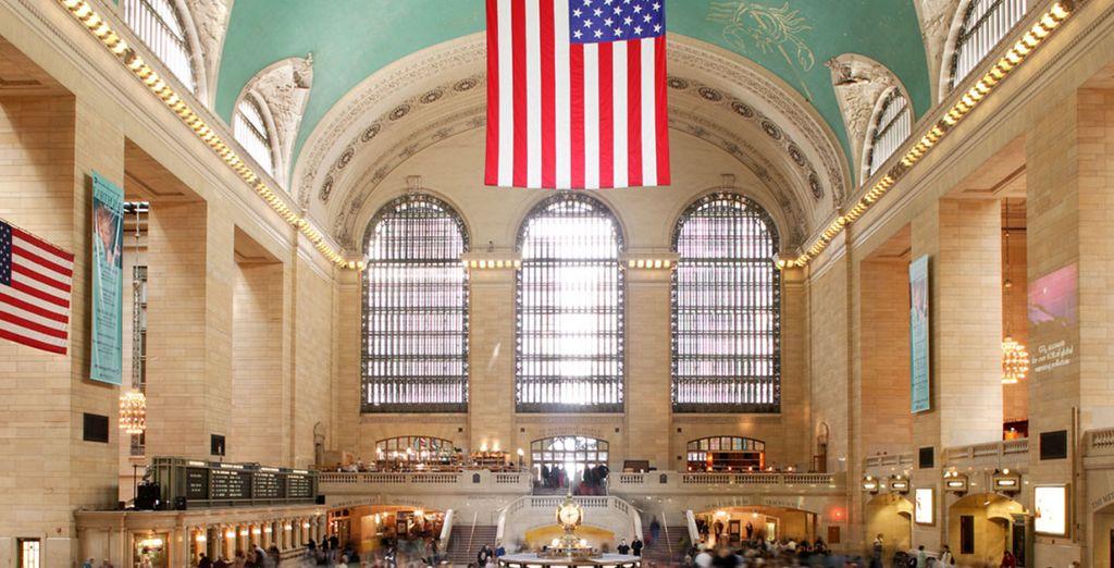 Un hôtel design à la situation idéale, avec un accès direct sur la mythique Grand Central Station