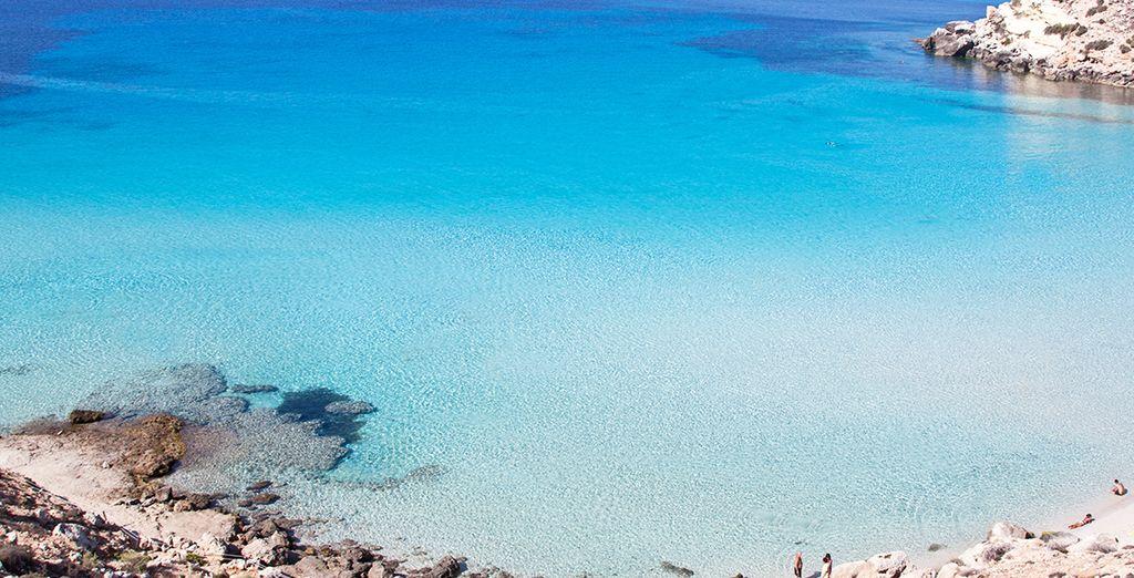 Sarà la vostra base per l'esplorazione di Lampedusa, il frammento più prezioso del nostro mare.