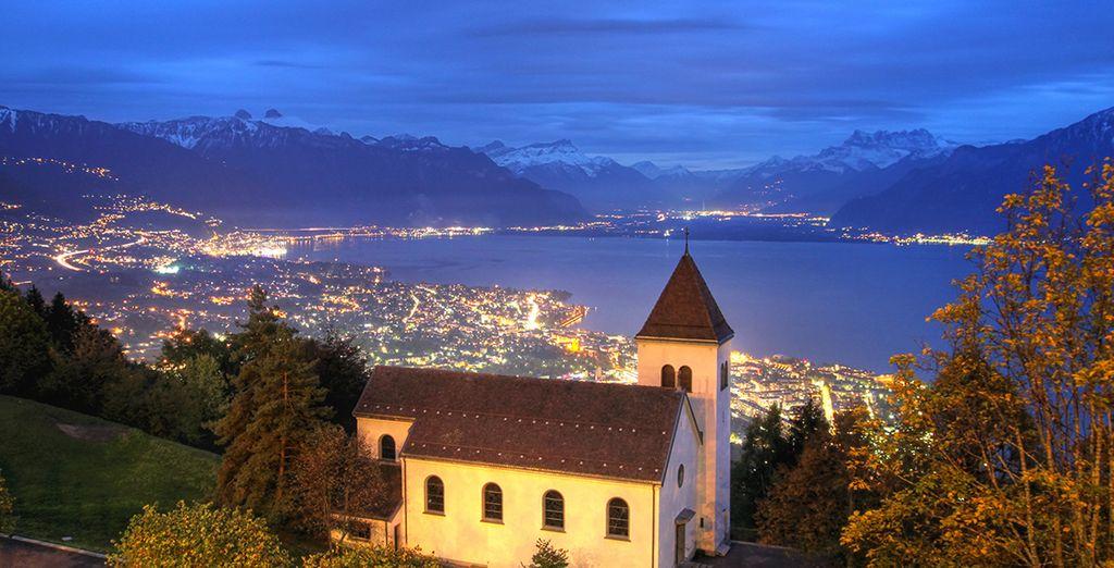 Mont-Pelerin Switzerland  city pictures gallery : Mont Pelerin!