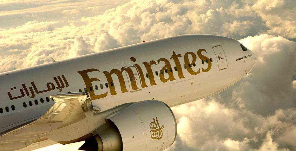 Choose first class flights with Emirates for the ultimate relaxing start to your holiday....