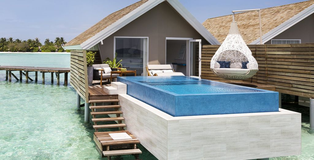 Or a stunning Romantic Pool Water Villa
