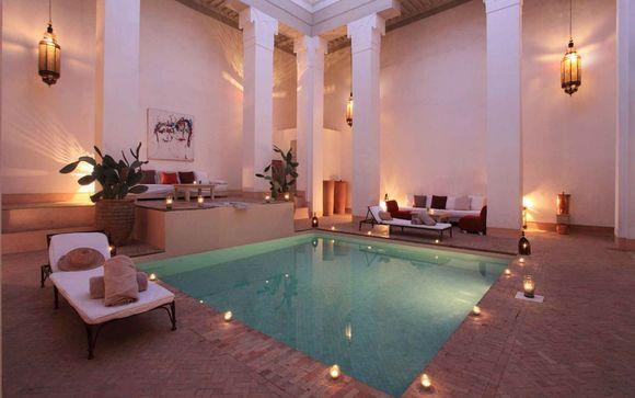 Hotel Spa Riad Al Jazira Marrakech Marruecos