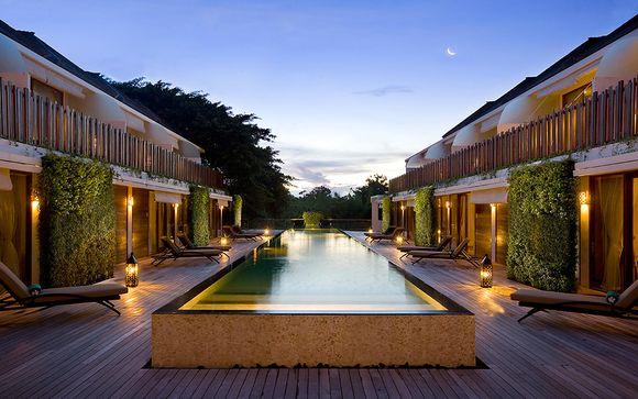 Combinado Hotel Kupu Jungle Ubud 5* y Hotel Kupu Kupu Jimbaran 4* Bali Indonesia