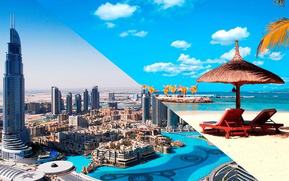 Crowne Plaza 5* e Intercontinental 5* Emiratos Árabes y Mauricio