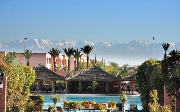 Marruecos Marrakech  Kenzi Menara Palace 5* All Inclusive desde 157,00 €