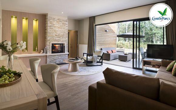 France Morton - Center Parcs Domaine du Bois aux Daims - Cottage VIP à partir de 339,00 €