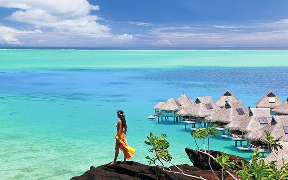 Meridien Tahiti 4*, Hilton Moorea 5* et Conrad Bora Bora 5*