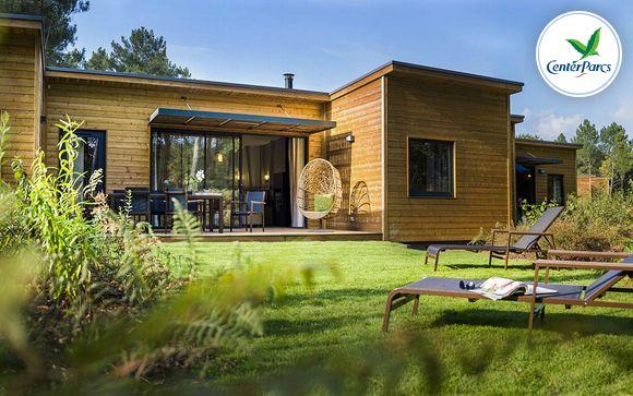 France Morton - Center Parcs Domaine du Bois aux Daims - Cottage Premium à partir de 249,00 €