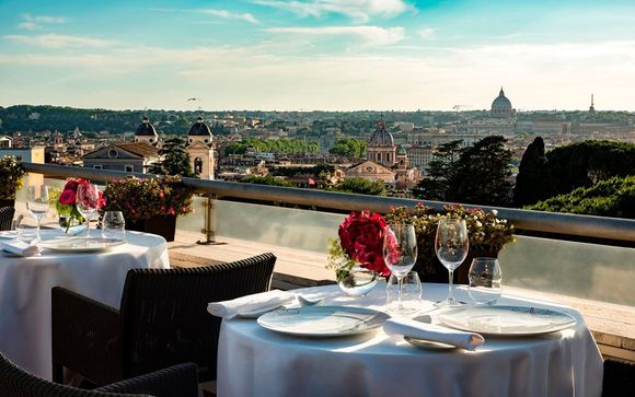 19th Century Boutique Hotel Overlooking Borghese Gardens