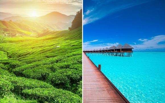 Serendipity of Ceylon & Maldives Stay
