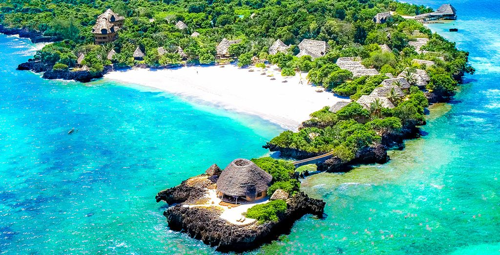 Safaris & Kombireise The Sands Nomad 5* et Chale Island 4*