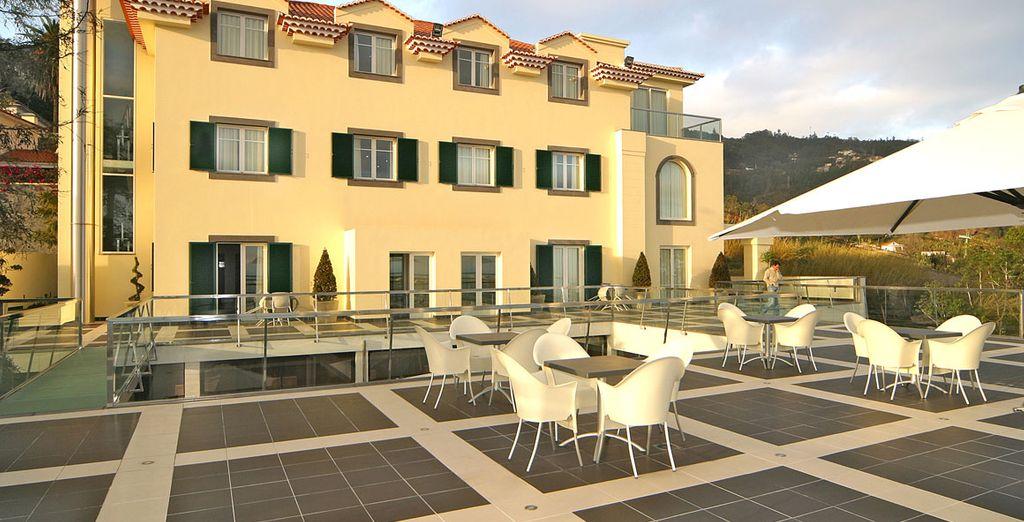 Das Quinta Mirabela 5* Hotel lädt Sie ein