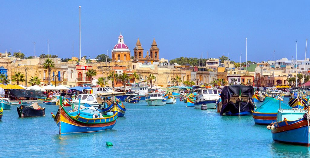 Marsaxklokk - Malta Urlaub