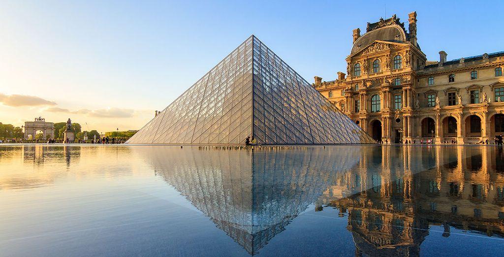 Besuch des berühmten Louvre-Museums