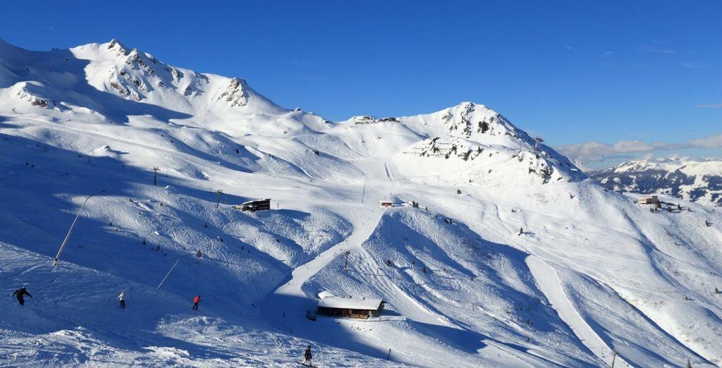 Skifahren während Ihres Urlaubs in Österreich