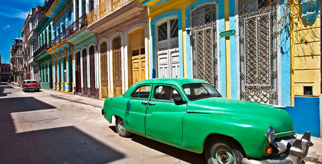 Die bunte Hauptstadt von Kuba