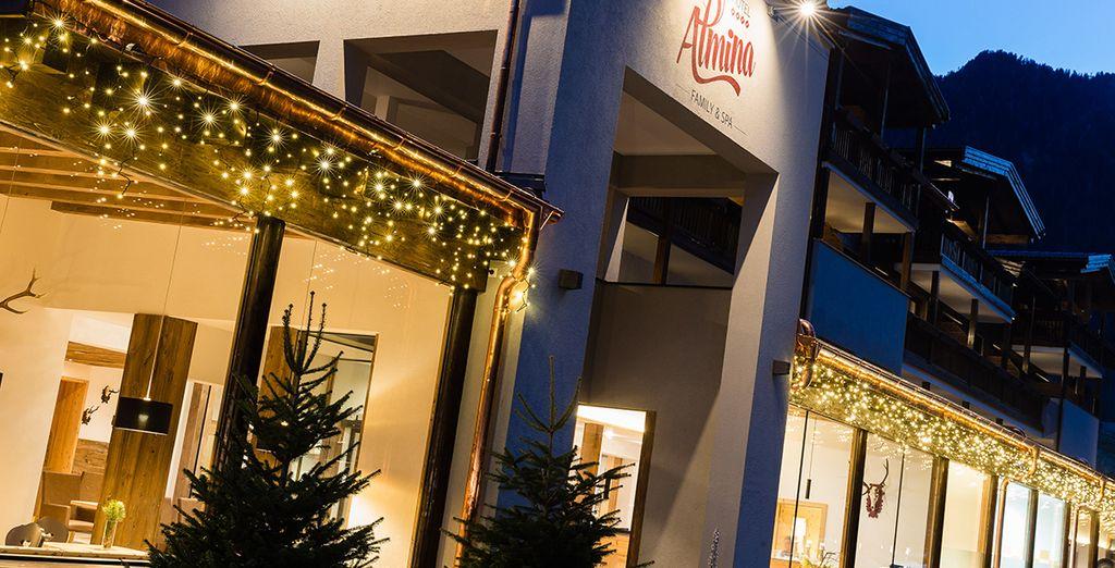Willkommen im 4* Hotel Almina in Südtirol