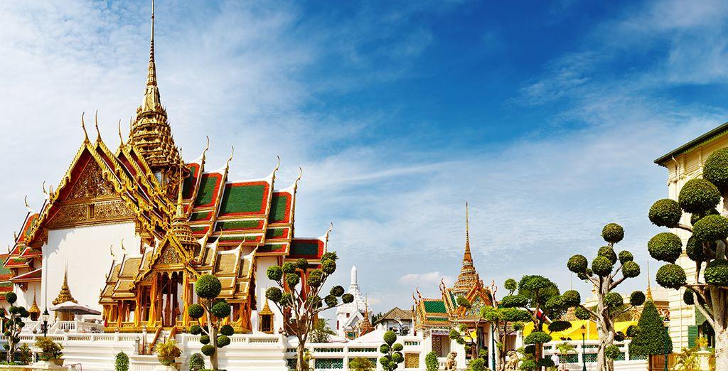 Entdecken Sie während Ihres Urlaubs in Bangkok die thailändische Kultur.
